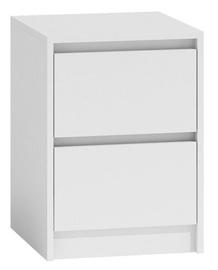Ночной столик Top E Shop K2 Karo, белый, 40x43x55 см
