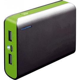 Ārējs akumulators Platinet PMPB6BBL Green, 6000 mAh
