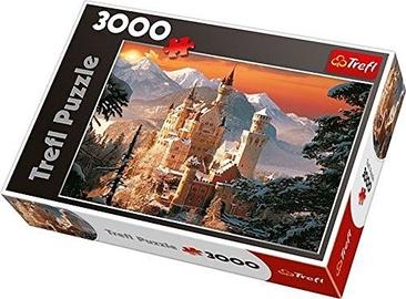 Пазл Trefl Wintry Neuschwanstein Castle Germany 33025, 3000 шт.