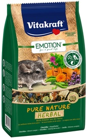 Vitakraft Emotion Pure Nature Herbal Chinchilla 600g