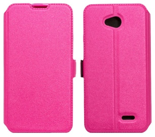 Telone Super Slim Shine Book Case Samsung A510F Galaxy A5 Pink