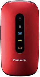 Мобильный телефон Panasonic KX-TU456, красный (поврежденная упаковка)/4