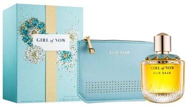Komplekts sievietēm Elie Saab Girl of Now 50 ml EDP + Handbag New Design