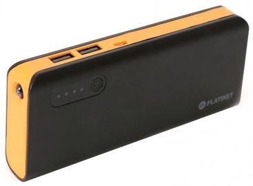 Platinet Power Bank 8000mAh + Torch Black/Orange
