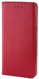 Mocco Smart Magnet Book Case For LG Q6 Red