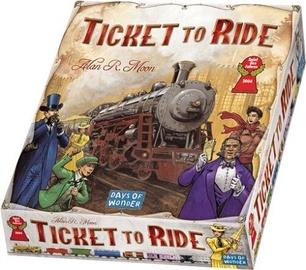 Настольная игра Asmodee Ticket To Ride, EN