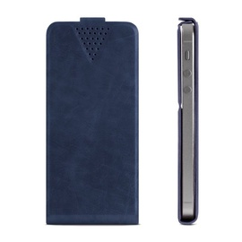 "GreenGo Sligo Universal Flip Case 4.6"" - 5.0"" Dark Blue"