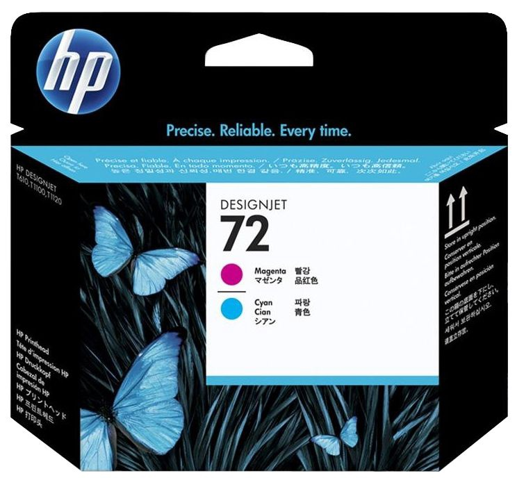 HP NO 72 Printhead Magenta/Cyan Pack