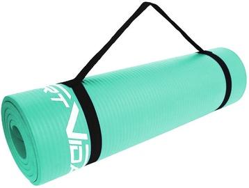 SportVida Exercise Mat 180x60x1cm Ocean Blue