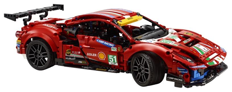 Constructor LEGO Technic Ferrari 488 GTE AF Corse #51 42125