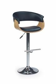 Bāra krēsls Halmar H-45 Light Oak/Black, 1 gab.