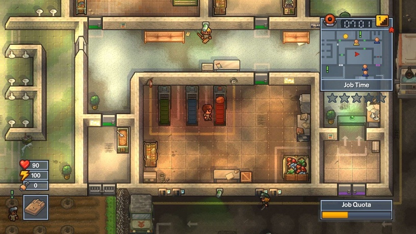 The Escapists 1+2 PS4
