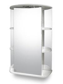 Vannas istabas skapītis Riva SV55-1, balta, 24 x 55 cm x 80 cm