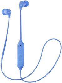 Беспроводные наушники JVC HA-FX21BT in-ear, синий