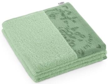 Полотенце AmeliaHome Crea 45209, зеленый, 140 см x 70 см