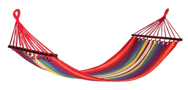 Home4you Riina Hammock Striped Red