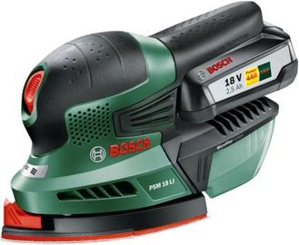 Slīpēšanas mašīnas Bosch PSM 18, bezsuku, 18 V