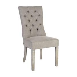 Ēdamistabas krēsls Home4you Watson 11954, pelēka