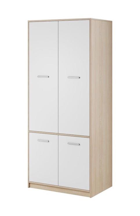 Skapis WIPMEB Tulia Sonoma Oak/White, 83.4x55.3x195 cm