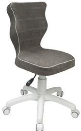 Bērnu krēsls Entelo VS03 White/Grey, 370x350x830 mm