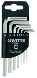 Witte Hexagonal Key Wrench Set 1.5-6mm 7pcs