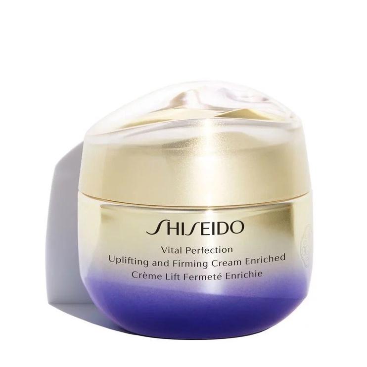 Sejas krēms Shiseido Vital Perfection Uplifting & Firming Cream Enriched, 50 ml