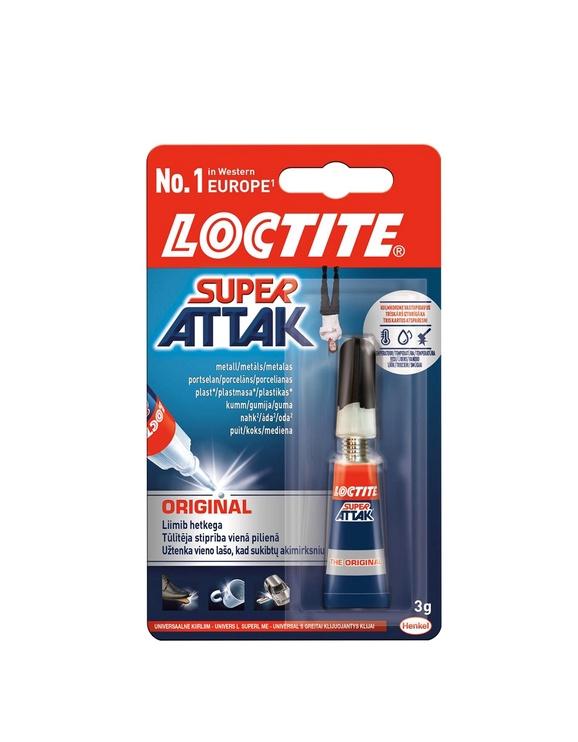 LĪME SUPER ATTAK 3G (Loctite)