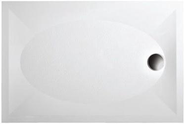Paa Art Shower Bath 1200x800mm White