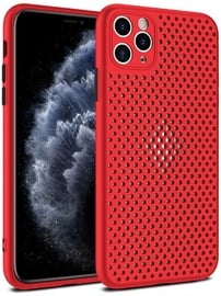 TakeMe Breathing Dotted Back Case For Apple iPhone 12 Pro Max Red