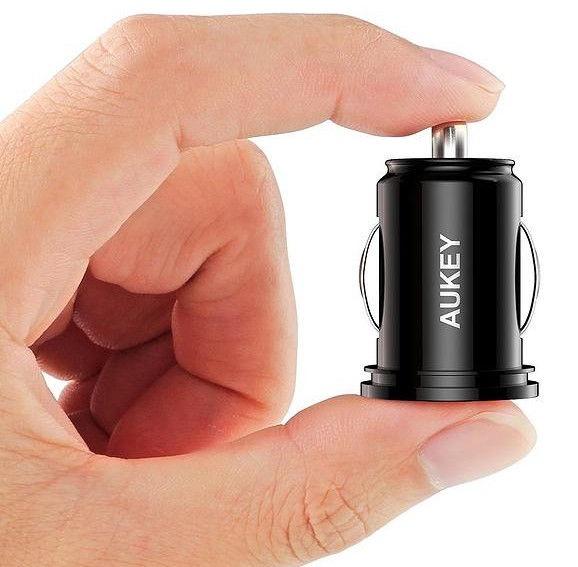 Aukey CC-S1 2 USB 4.8A 24W Black