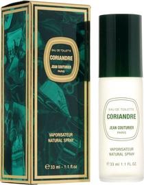 Tualetes ūdens Jean Couturier Coriandre, 33 ml EDT