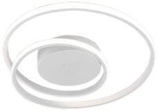Trio Zibal matēts balts griestu LED gaismeklis, 22W, 2200lm, 3000K, trīspakāpju slēdža aptumšošanas funkcija
