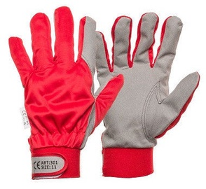 DD Synthetic Leather Gloves With Clip 8
