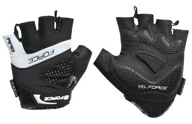 Force Rab Gel Short Gloves White/Black L