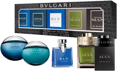 Vīriešu smaržu komplekts Bvlgari The Mens Gift Collection 25 ml