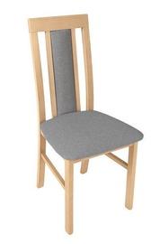 Ēdamistabas krēsls Black Red White Belia Oak/Grey, 1 gab.