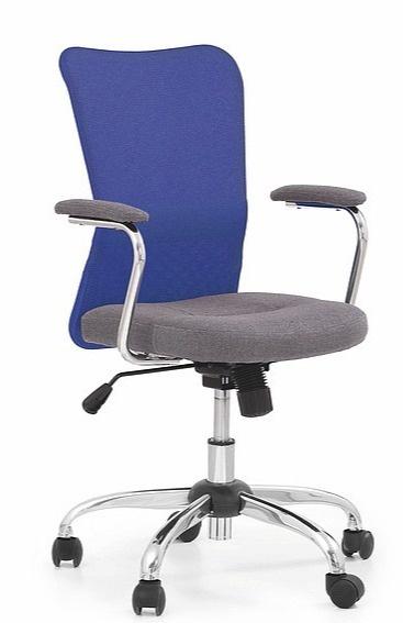 Halmar Chair Andy Grey/Blue