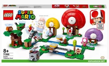 Konstruktors LEGO®Super Mario Toada dārgumu medību paplašinājuma maršruts 71368