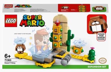 Konstruktors LEGO Super Mario Tuksneša adataiņu paplašinājuma maršruts 71363, 180 gab.