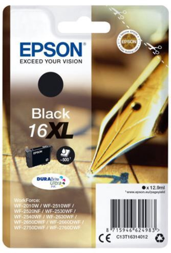 Epson 16XL Cartridge 12.9 ml Black