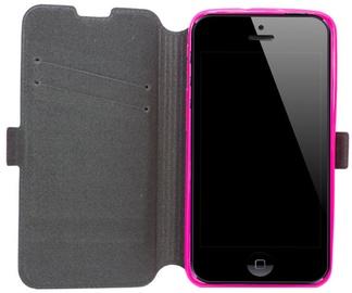 Telone Super Slim Shine Book Case Microsoft Lumia 535 Pink