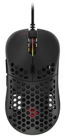 Spēļu pele Spc Gear LIX Black, vadu, optiskā