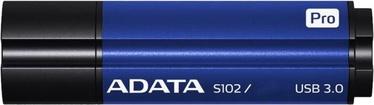 USB флеш-накопитель ADATA S102 Pro Titanium Blue, USB 3.0, 32 GB