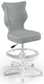 Bērnu krēsls Entelo Petit HC+F Size 3 JS03, balta/pelēka, 300 mm x 895 mm