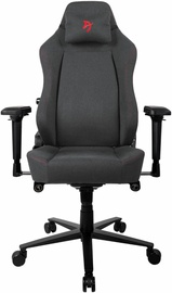 Spēļu krēsls Arozzi Primo Woven Fabric Black/Grey/Red
