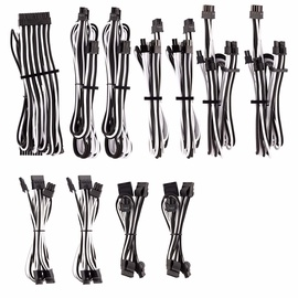 Corsair Premium Individually Sleeved PSU Cables Pro Kit Type 4 Gen 4 White/Black