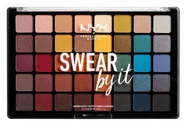 NYX Swear By It Shadow Palette 40x1g