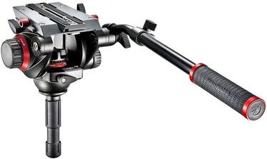 Manfrotto 504 Fluid Video Head With 75mm Half Ball 504HD