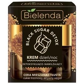 Sejas krēms Bielenda Black Sugar Detox Face Cream Day/Night, 50 ml