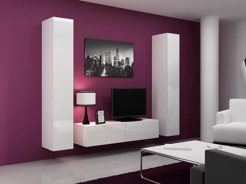Cama Meble Vigo 180 Full Cabinet White/White Gloss